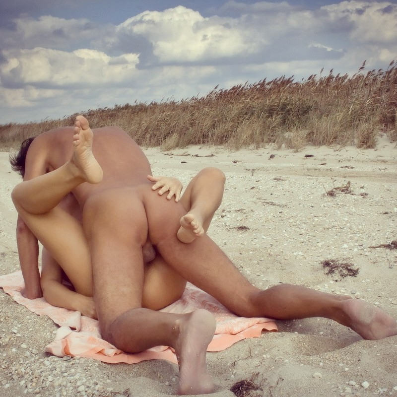 Tumblr nude on beach