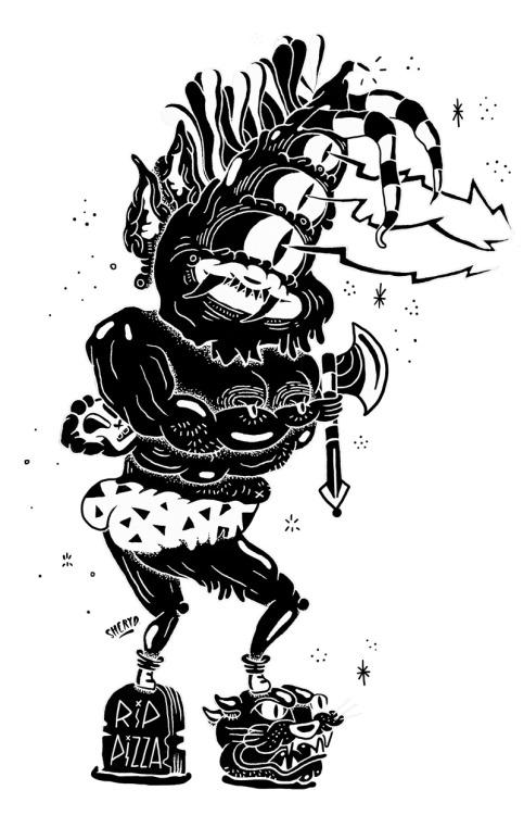 Axehead terror gronk by sheryo www.sheryoart.com