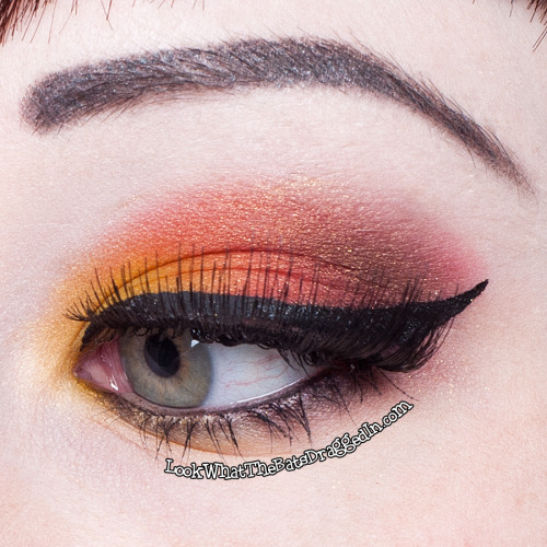 battylacquer:  New blog post up! Featuring Iron Man inspired makeup and polish haul