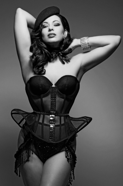 Immodesty Blaize by Clive Arrowsmith. Lingerie by ID Sarrieri