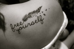 Free Yourself on We Heart It. http://weheartit.com/entry/61994420/via/alice_298