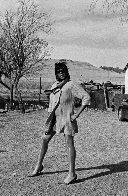 dynamicafrica:  Posing. Photos from Sabelo Mlangeni's series 'Country Girls', an intimate portrait of gay life in the countryside of rural Mpumalanga, South Africa. 2003 - 2009.