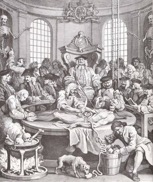puszcza:  The Reward of Cruelty, William Hogarth, 1751