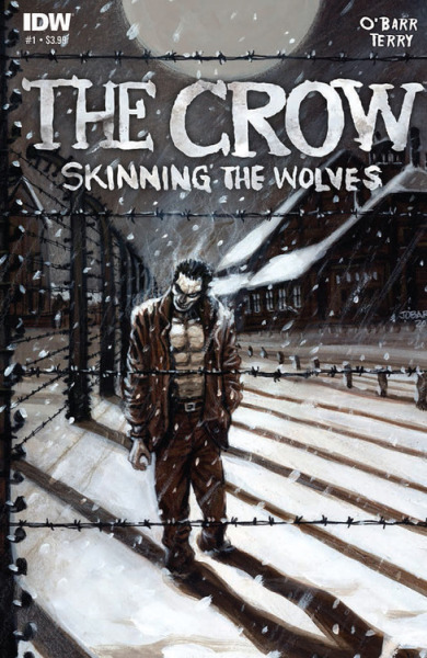 Wait… James O'Barr is back?! The Crow: Skinning The Wolves Art and story by James O'Barr. Yes! Follow Rad Recorder.