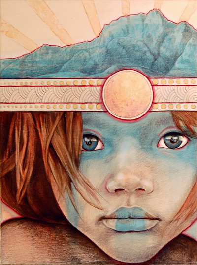 Sun Child 1 by ~MichaelShapcott