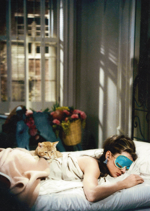 turnedskyward:   Audrey Hepburn as Holly Golightly, Breakfast at Tiffany's 1961.  strug city this morning