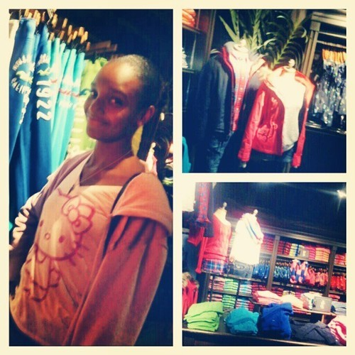 Boy, when we shop at Hollister, we SHOP at Hollister XD