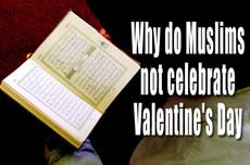 "moeyhashy:  This question may be answered in several ways:   1- In Islam, the festivals are clearly defined and well established, and no additions or subtractions may be accepted. They are an essential part of our worship and there is no room for personal opinion. They have been prescribed for us by Allaah and His Messenger . Ibn Taymiyyah, may Allaah have mercy on him, said: ""Festivals are part of the laws, clear way and religious ceremonies of which Allaah Says (what means): 'To each among you, We have prescribed a law and a clear way' [Quran 5:48] and 'For every nation We have ordained religious ceremonies which they must follow.'"" [Quran 22:67]  Like the Qiblah (the direction faced in prayer), prayer and fasting. So there is no difference between joining them in their festival and joining them in their other rituals. Agreeing with the whole festival is agreeing with disbelief. Agreeing with some of their minor issues is the same as agreeing with them in some of the branches of disbelief.  Festivals are the most distinctive things by which religions are told apart, so whoever celebrates their festivals is agreeing with the most distinctive rituals of disbelief. Undoubtedly, going along with them in their festivals may, in some cases, lead to disbelief. Dabbling in these things, at the very least, is a sin. The Prophet  referred to the fact that every nation has its own festivals when he  said: ""Every nation has its own 'Eed and this is our 'Eed."" [Al-Bukhaari]  Because Valentine's Day goes back to Roman times, not Islamic times, this means that it is something which belongs exclusively to the Christians, not to Islam, and the Muslims have no share and no part in it. If every nation has its own festivals, as the Prophet  said: ""Every nation has its 'Eed"" [Al-Bukhaari and Muslim] - then this means that every nation should be distinguished by its festivals.  If the Christians have a festival and the Jews have a festival, which belongs exclusively to them, then no Muslim should join in with them, just as he does not share their religion or their direction of prayer.  2- Celebrating Valentine's Day means resembling or imitating the pagan Romans, then the Christian People of the Book in their imitation of the Romans in something that was not part of their religion. If it is not allowed to imitate the Christians in things that really are part of their religion - but not part of our religion - then how about things which they have innovated in their religion in imitation of idol-worshippers?  Imitating non-Muslims in general -whether they are idol-worshippers or People of the Book - is Haraam (prohibited), whether that imitation is of their worship - which is the most serious form - or of their customs and behavior. This is indicated by the Quran, Sunnah and Ijmaa' (scholarly consensus):  (i) From the Quran: Allaah Says (what means): ""And be not as those who divided and differed among themselves after the clear proofs had come to them. It is they for whom there is an awful torment."" [Quran 3:105]  (ii) From the Sunnah: the Prophet  said: ""Whoever imitates a people is one of them."" [Abu Daawood]  Ibn Taymiyyah, may Allaah have mercy on him, said: ""This Hadeeth (narration) at the very least indicates that it is Haraam to imitate them, although the apparent meaning implies that the one who imitates them is non-Muslim, as Allaah Says (what means): 'And if any amongst you takes them friends (and helpers), then surely, he is one of them' [Quran 5:5].""  (iii) With regard to Ijmaa', Ibn Taymiyyah, may Allaah have mercy upon, him narrated that there was agreement that it is Haraam to imitate non-Muslims in their festivals at the time of the Prophet's Companions and Ibn Al-Qayyim  narrated that there was scholarly consensus on this point.  3- The love referred to in this festival ever since the Christians revived it is romantic love outside the framework of marriage. The result of that is the spread of fornication and immorality. Hence, the Christian clergy opposed it at some stage and abolished it, then it came back again.  Some people may wonder, and say: ""You mean to deprive us of love, but in this day and age we express our feelings and emotions - what is so wrong with that?""  We say:  Firstly: It is a mistake to confuse what they call the day with what the real intentions are behind it. The love referred to on this day is romantic love, taking mistresses and lovers, boyfriends and girlfriends. It is known to be a day of promiscuity and sex for them, with no restraints or restrictions… They are not talking of pure love between a man and his wife or a woman and her husband, or at least they do not distinguish between the legitimate love in the relationship between husband and wife, and the forbidden love of mistresses and lovers. This festival for them is a means for everyone to express love.  Secondly: Expression of feelings and emotions is not a justification for the Muslim to allocate a day for celebration based on his own thoughts and ideas, and to call it a festival, or make it like a festival or 'Eed. So how about when it is one of the festivals of the non-Muslims?  In Islam, a husband loves his wife throughout the year, and he expresses that love towards her with gifts, in verse and in prose, in letters and in other ways, throughout the years - not just on one day of the year.  Thirdly: There is no religion which encourages its followers to love and care for one another more than Islam does. This applies at all times and in all circumstances, not just on one particular day. Indeed, Islam encourages us to express our emotions and love at all times, as the Prophet  said: ""If a man loves his brother, let him tell him that he loves him."" [Abu Daawood]  And He  said: ""By the One in Whose hand is my soul, you will not enter Paradise until you truly believe, and you will not truly believe until you love one another. Shall I not tell you of something that, if you do it, you will love one another? Spread salaam (Islamic greeting) amongst yourselves."" [Muslim]  Fourthly: Love in Islam is more general and more comprehensive; it is not restricted only to one kind of love, that between a man and a woman. There are many more kinds of love. There is the love of Allaah, love of His Messenger  and his companions  love for good and righteous people, love and support for the religion, love of martyrdom for the Sake of Allaah, etc. There are many kinds of love. It is a dangerous mistake to restrict this broad meaning to this one kind of love.  Fifthly: What these people think, that love before marriage is a good thing, is wrong, as has been proven in studies and by real-life experience.  So, how can we believe that Valentine's Day is of any benefit to Muslims? The truth is that it is a call for more permissiveness and immorality, and the forming of forbidden relationships.  The husband who sincerely loves his wife does not need this holiday to remind him of his love. He expresses his love for his wife at all times and on all occasions."