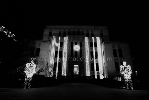 Gregg County Courthouse IMG_9439BW on Flickr.