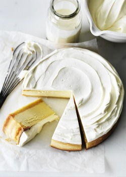 grayskymorning:  classic lemon cheesecake