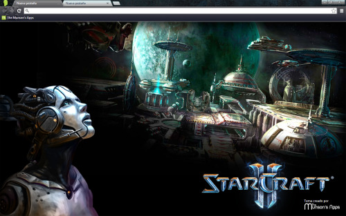 Starcraft Chrome Theme available here!