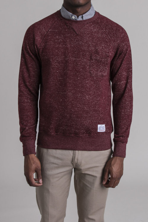 wantering:  Vive Marled French Terry Raglan Crewneck
