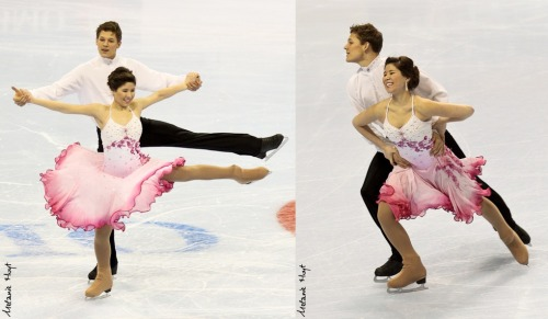 Jenna Zaleski and Andrew Deweyert skating the Westminster Waltz pattern dance at the 2011 Novice Canadian National Championships.