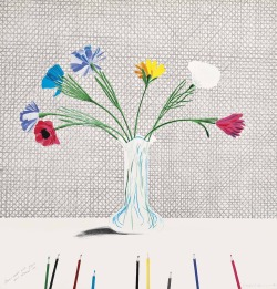 christiesauctions:  David Hockney (b. 1937)Coloured Flowers Made of Paper and Ink (Scottish Arts Council 119; Tokyo 113) Prints and Multiples