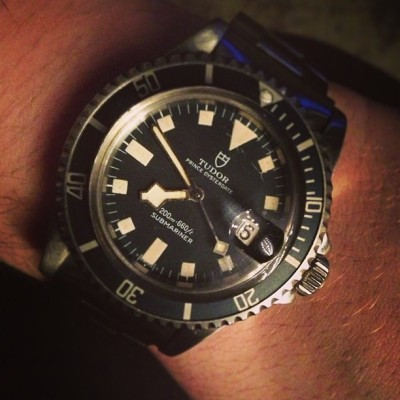 Vintage Tudor snowflake submariner, you will be mine #womw #redbarcrew