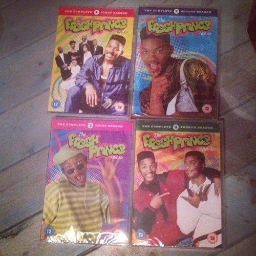 Don't think I'll ever be stuck for something to watch aha. #freshprince #freshprinceofbelair #willsmith #legend
