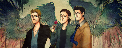 smightymcsmighterton:  SPN: Angels by *kaiser-mony