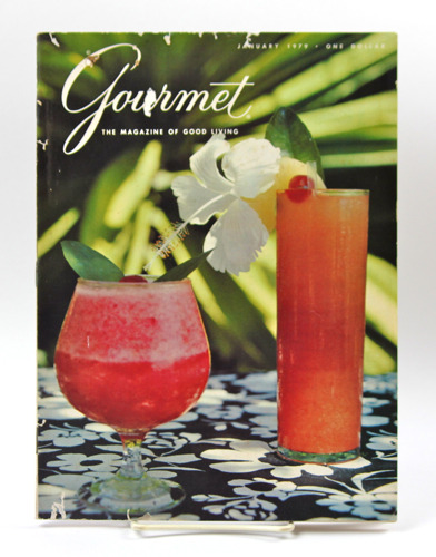 Cover of Gourmet - The Magazine of Good Living. January 1979.