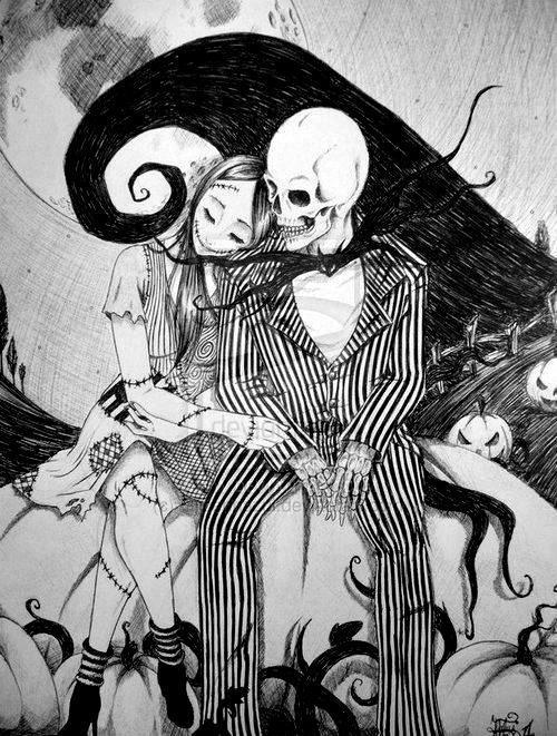 that-boy-aint-quite-right:  We can live like jack and Sally if we want