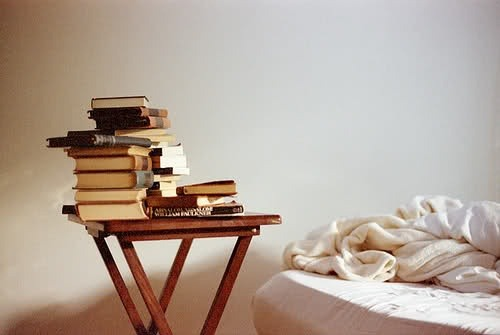 bookriot:   Which one does your book pile resemble? What Your Book Pile Says About You   Number two, although I pretend to be the first one -sigh-