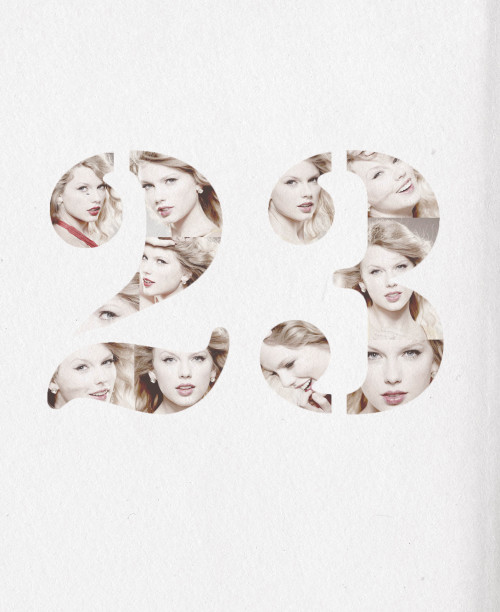 "nightsgotcold:  Happy twenty-third birthday to our queen, Taylor Alison Swift! ""I'm a Sagittarius. I think that means I'm always looking for something new. It also means I have a Christmas-themed birthday party every year. I love bright colors and things that make reality seem more whimsical than it is."""