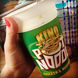 welcome-to-the-mad-house:  Mmm #potnoodle #hungry