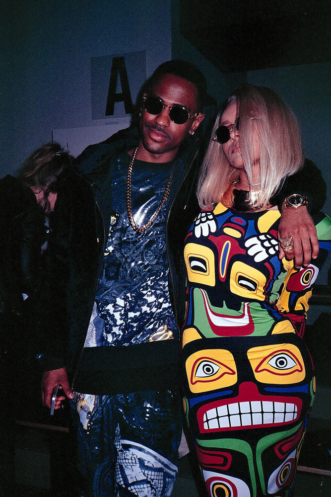 nikkoportillo:  Big Sean at the Jeremy Scott show | 2013