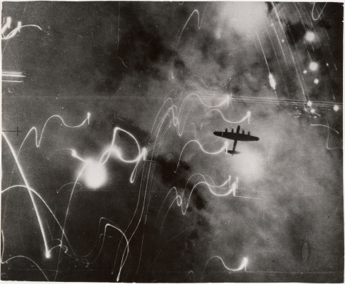 British Air Ministry, R.A.F. Raid on Hamburg, silver gelatin print, 1943, Metropolitan Museum of Art