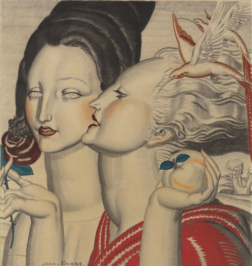 "christiesauctions:  Jean Dupas (1882-1964)Project For Xvme Salon Des Artistes Decorateurs, 1924 The Steven A Greenberg Collection Masterpieces of French Art Deco  ""Price realized: $530,500"""
