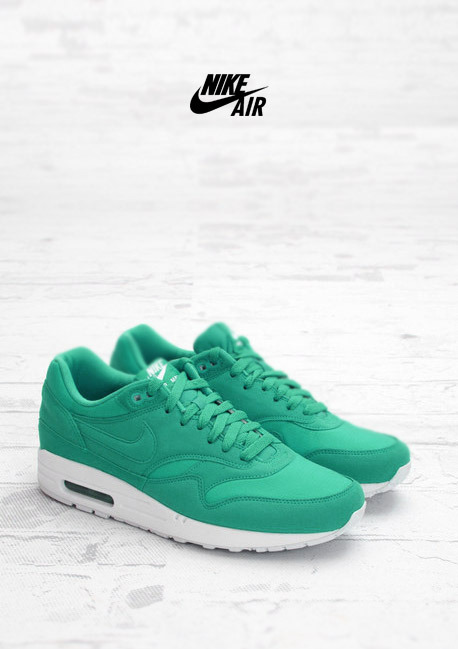 shoe-pornn:  Nike Air Max 1-PS Western Green.