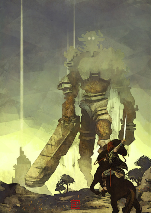 geeksngamers:  Shadow of the Colossus - by Emilien Francois