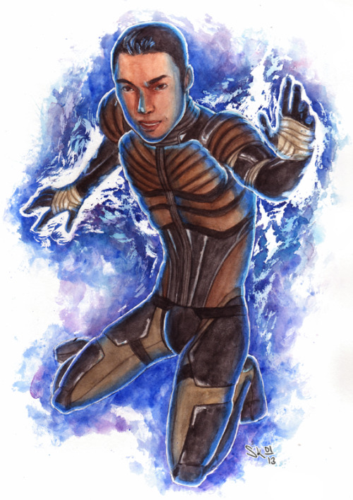 Kaidan Alenko from Mass Effect