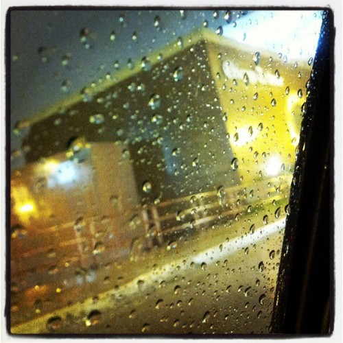 I+ the rain ….. #Chicago