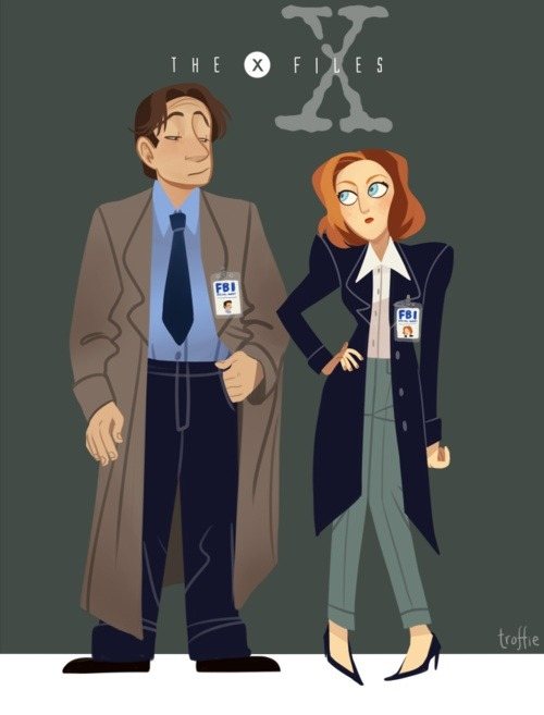 The X-Files were cool…