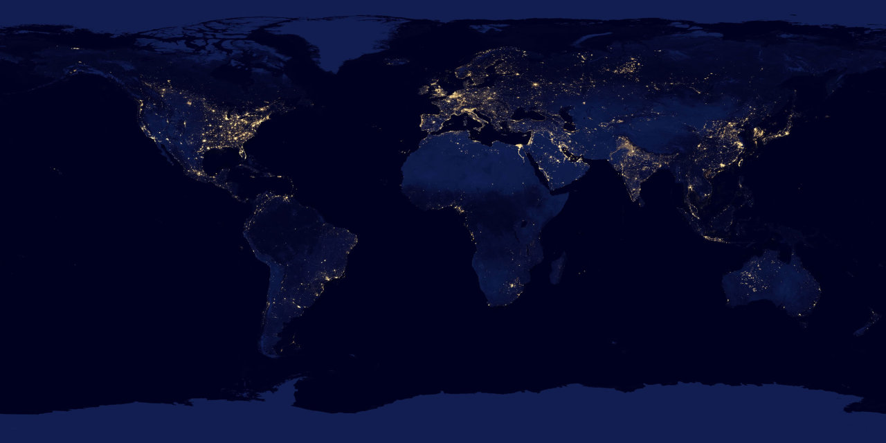 "the world at ""night"""