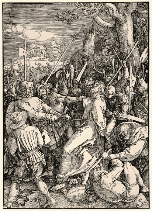 signorcasaubon:  Albrecht Durer - Der Verrat an Christus (The Betrayal of Christ); 1510