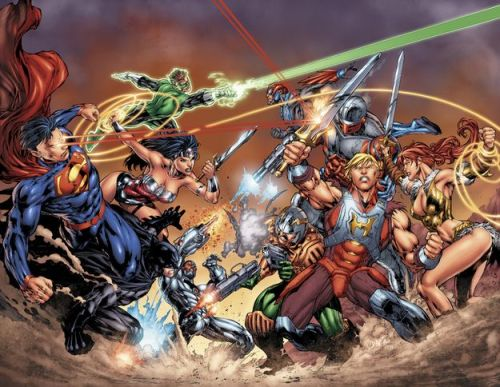 DC Comics has announced that they will be releasing a six-issue' DC Universe Vs. Masters of the Universe' comic series in August!