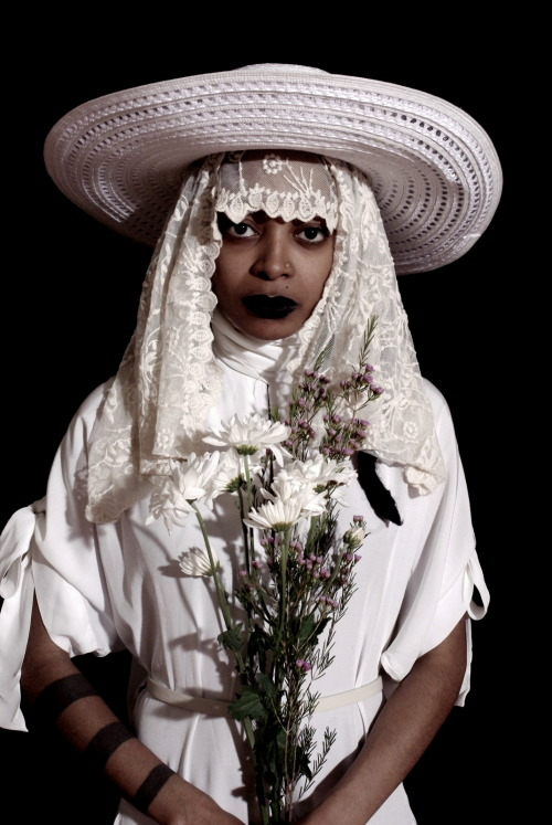 kwesiabbensetts:  ©kwesi abBensetts The Dark Room Portraits  #1 @gypsybruja More to come - Photos were taken at WitchesBrew & PaganGospel a show presented and performed by the artists @gypsybruja & @fathermercuryraphael . Images were shot @freethecandy