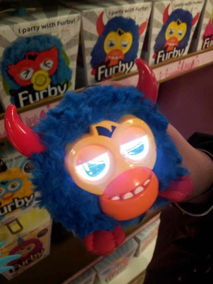 myexchangediaryuk:  HOW AND WHY ON EARTH DID THEY MANAGE TO MAKE FURBYS EVEN CREEPIER   FOR THE FUCKING SAKE OF ALL THAT IS FUCKING HOLY WE AS A PEOPLE NEED TO DESTROY AND BURN ALL FURBIES AND THE FACTORY
