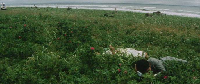 primalscene:  Pleasures of the Flesh (dir. Nagisa Oshima, 1965)