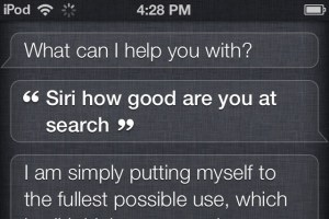(vía Ever wonder what Apple does with your Siri data? — Tech News and Analysis)