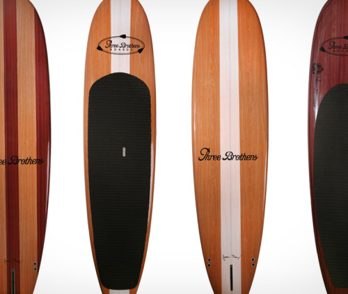 Three Brothers Paddle Boards. Be a stand up guy.