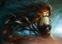 Wind Queen by ~rustikuz