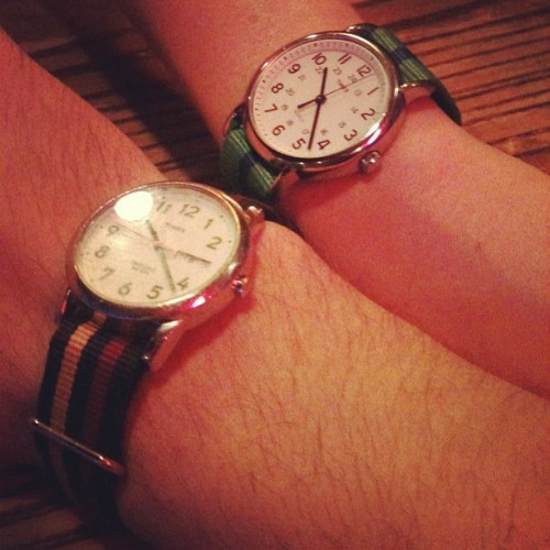 Timex Twins. @juliabyers