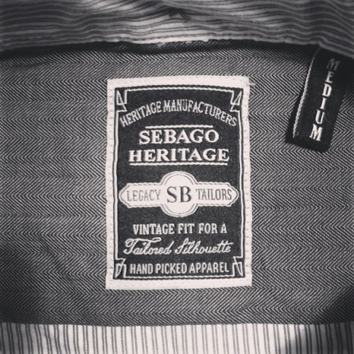 Man, just checked out some of the latest #Sebago apparel… So beautiful. The attention to details is right on.