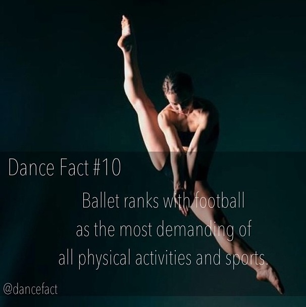 balanceandperfection:  Don't underestimate a ballerina.