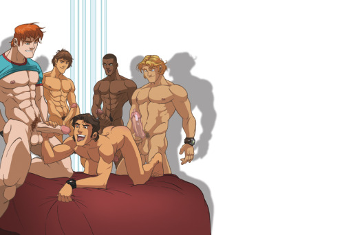 yourassisminebitch:  Gather around guys and take a turn riding that ass.