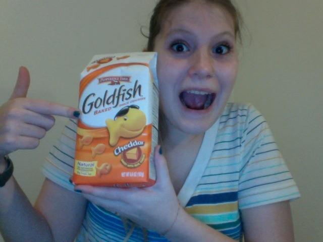 After three months of living in Sweden, I'VE FINALLY FOUND GOLDFISH!!!