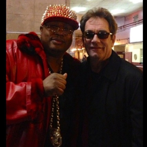 jessethorn:  Huey Lewis & E-40. Bay Area icons.