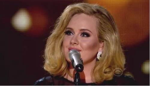 "Congratulations to Adele for making music history! Adele's album ""21"" was the highest selling album for two years in row!"
